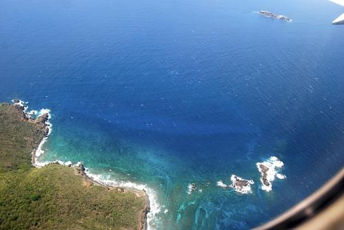 July 3, 2008 In flight- St. Thomas