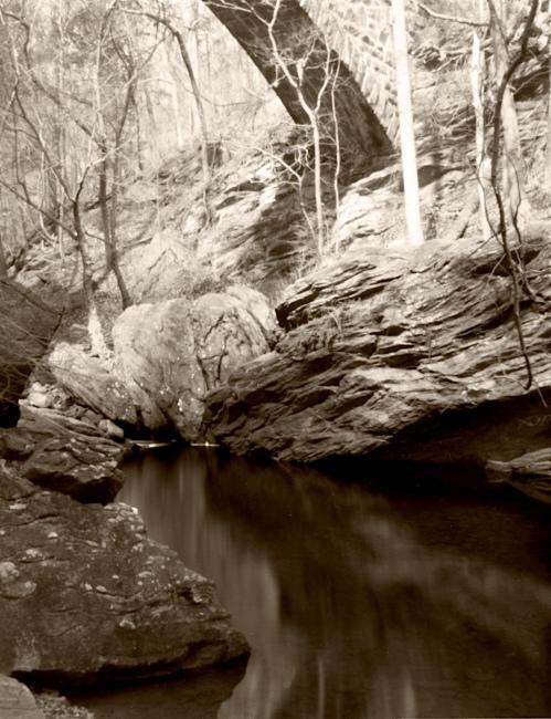 Mar 14, 2009, Devil's Pond / Wissahickon Valley