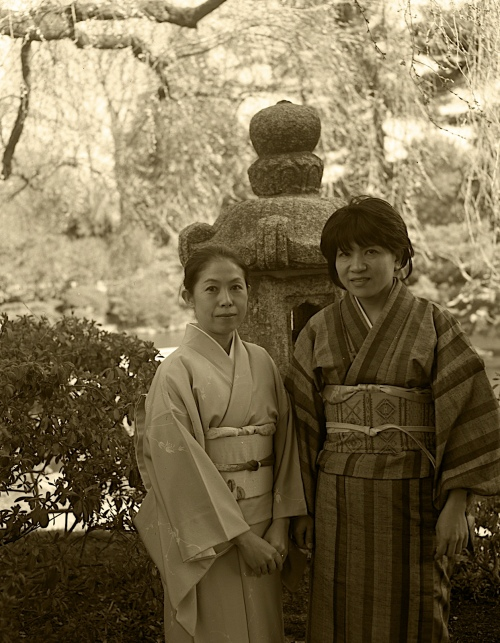 Apr 4, 2009, Japanese Tea Ceremony_ 4x5 Film Speed Graphix Camera K&Y