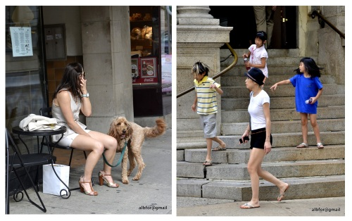 18th-street-activity, family, woman with dog - Board-1