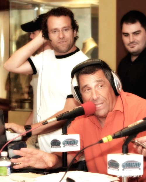 Sportsradio 610 WIP's Angelo Cataldi and the morning hosted the 6th Annual World's Largest Bubble Bath on Thursday