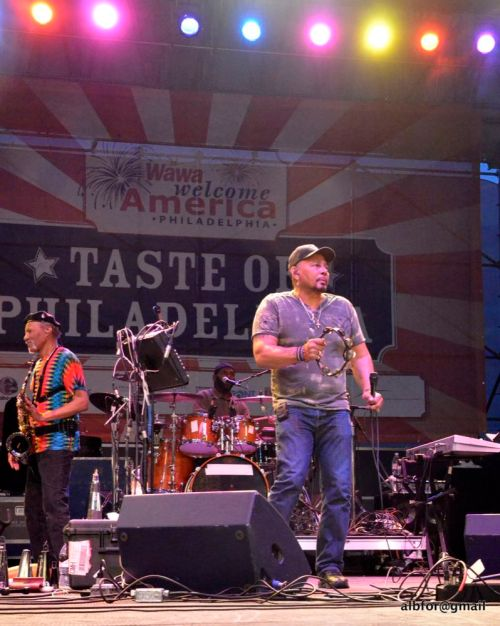 June 25, 2011 Aaron Neville, Taste Of Philadelphia