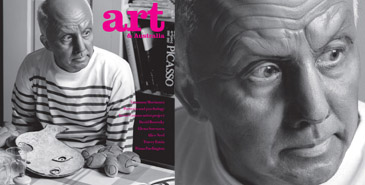 "Autumn edition of ""art & Australia"" magazine, Pablo Picaso"