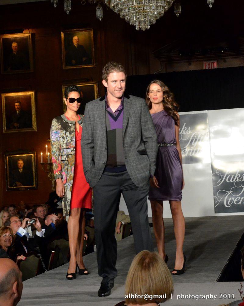Shane victorino foundation all star celebrity fashion show