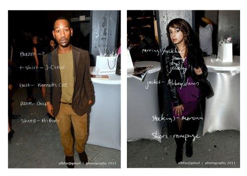 Street-fashion |    Lucky Fischer: Staff Writer   Riss Vandal: FashionVandals.com