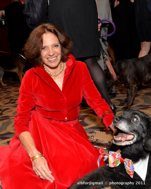 Oct 15, 2011 Good Dog Gala Jane Biberman with Butch