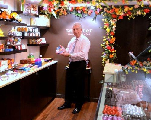 Oct 19, 2011  Teuscher Chocolates Bruce Goldberg (owner of Teuscher Chocolates)