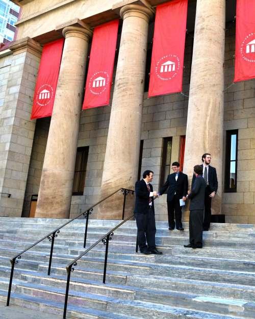 Oct 13, 2011 Laura & Nick Uart-front-steps-upload-5097