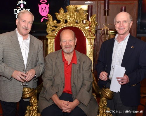 """Nov 16, 2011 Phila., Whiskey Festival 2011""""Fred Noe, Master distiller & great-grandson of Jim Beam"""