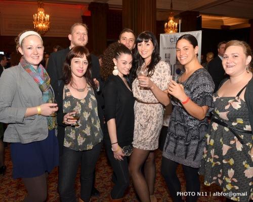 Nov 16, 2011 Phila., Whiskey Festival 2011 Group shot DSC_0837