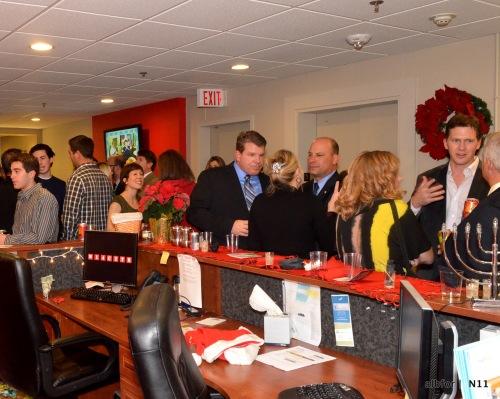November 30, 2011  KW Keller Williams Realty's Holiday party  DSC_2397