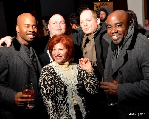Dec 13, 2011 Don Baker, Jason (Rum Bar), Adam Kanter & Clyde Davis