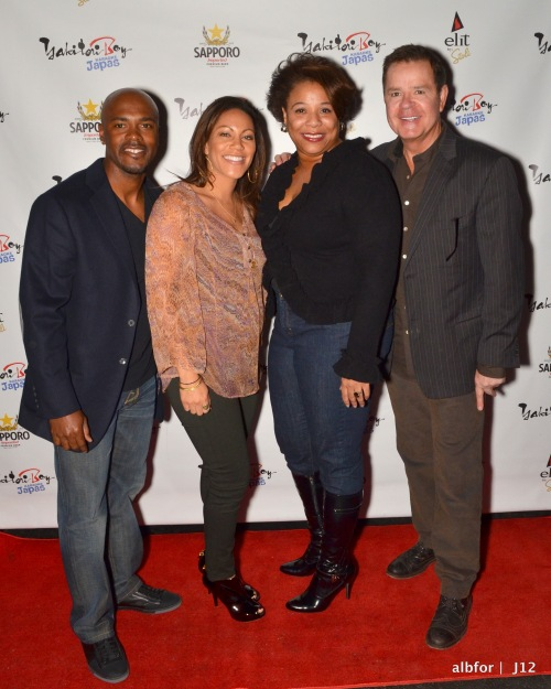 Jan 30, 2012 Jimmy & Johari Rollins with Greta Russo & Mike Jerrick DSC_1381