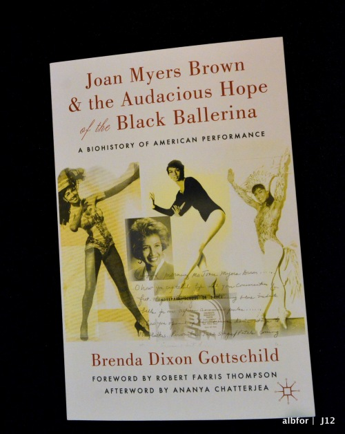 Jan 9, 2012 Joan Myers Brown, Book cover DSC_8702