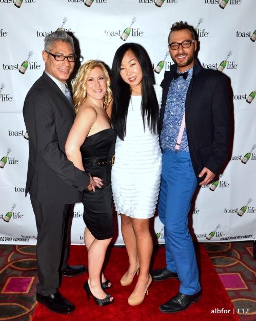 Feb 26, 2012 Orlando Rivera, Traci kelly, Lydia Lim & Ben Everette Moore