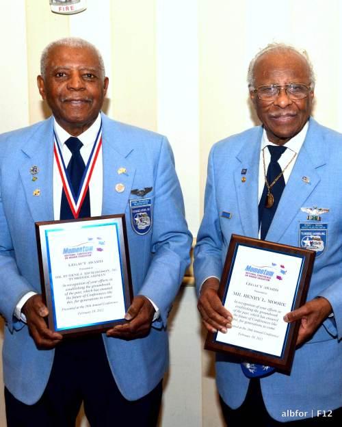 Feb 18, 2012 Tuskegee Airmen-Eugene-J.-Richardson,-Jr.-&-Mr.-Henry-L.-Moore_5353