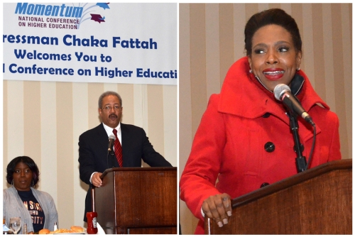 Feb-17-19-Momentum-26-Tri-a Congressman Chaka Fattah  |  Actress Sheryl Lee Ralph