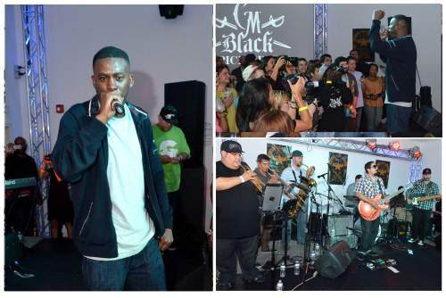 GZA from the Wu-Tang Clan performed to a packed house with GRUPO FANTASMA