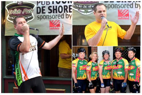The-25th-Anniversary-Irish-Pub-Tour-de-Shore  | Gregg Murphy  |  Patrick Liney