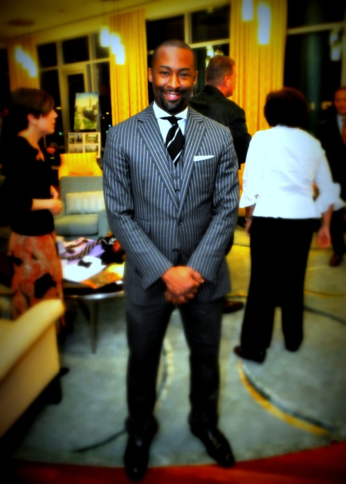 Oct 11, 2012 Presenter Sam Odom (RALPH LAUREN MEN'S Department)