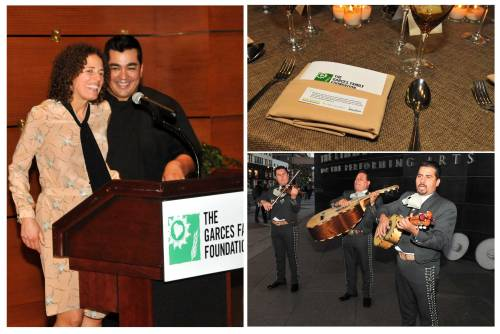 Oct 10, 2012  Garces Family Foundation Launch Event Chef Jose & Beatriz Garces