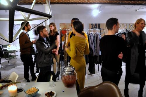 Nov 23, 2012 Bela Shehu - Harper's Fashion Editor Lisa Luna - Cocktail Party!
