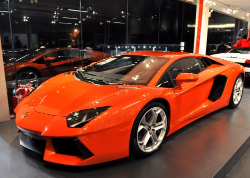 DEC 7,  2012   FRIDAY F.C. KERBECK - Lamborghini Launch Event, 2013 Lamborghini Aventador LP 700-4($387,000)