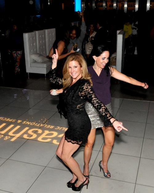 Cashman & Associates Holiday Soiree | Michelle Ranieri & Elaine G. (Cigna)