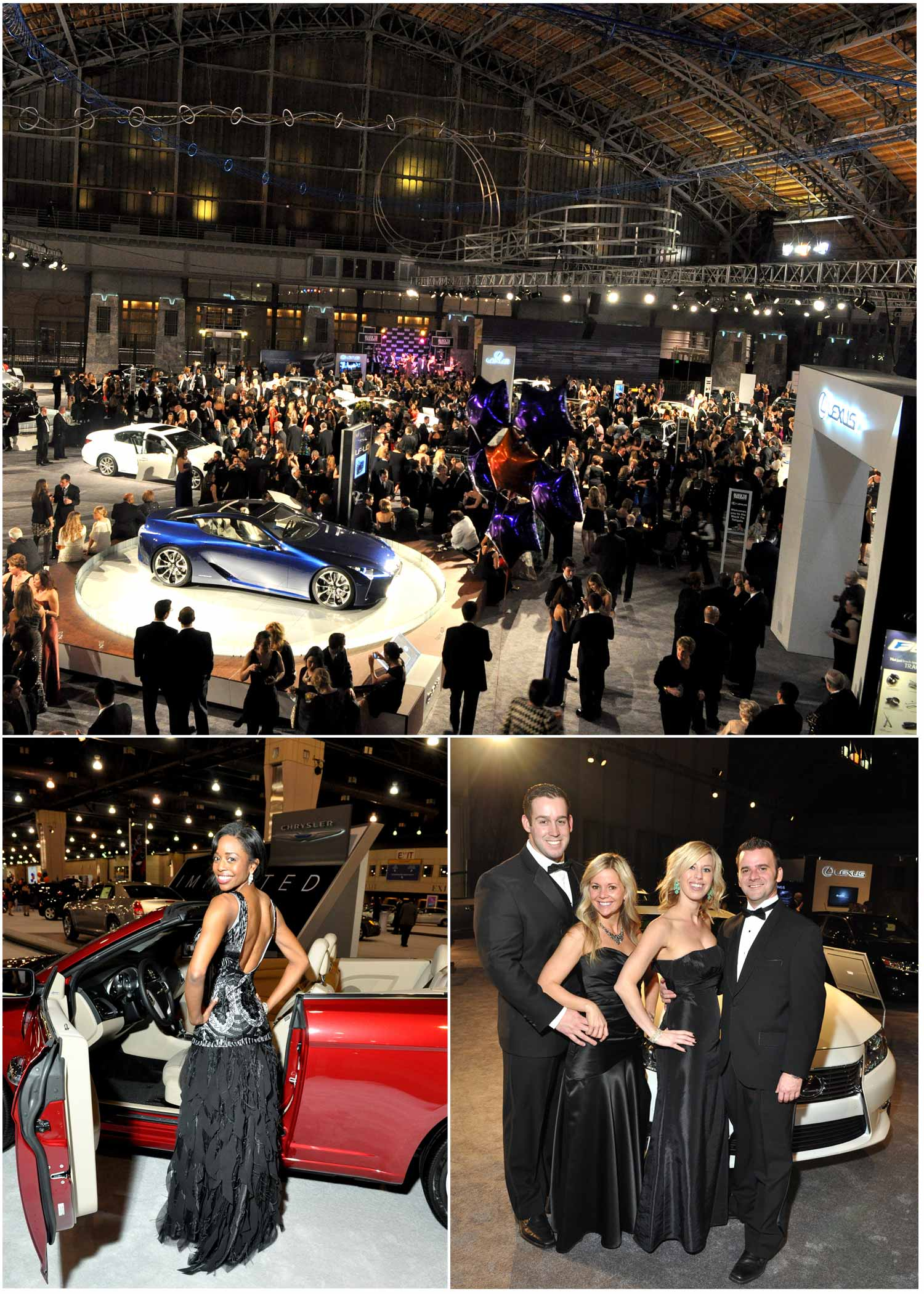 Jan Philadelphia Black Tie Auto Show Al B Fors Weblog - Black tie event philadelphia car show