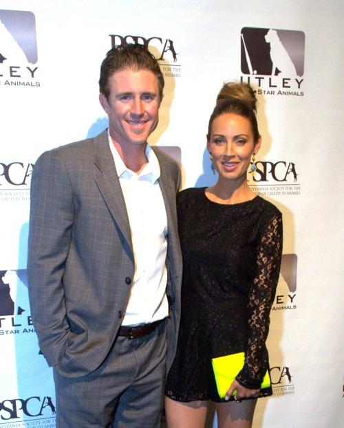 May 15, 2013 Chase Utley and Jennifer Utley