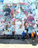 May 31, 2013 A Mural dedicated to honor The Roots