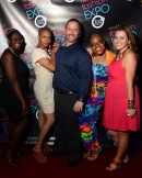 June 27, 2013 Philly Fashion Expo Launch Party. Fire & Ice