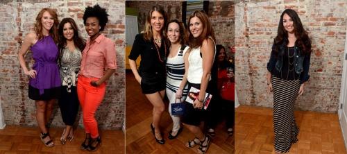 Kristin Detterline, Bobbie Thomas and Rakia Reynolds | Megan Dyer, Despina Belsemeo and Dafni C. | Sarah Janiszewski
