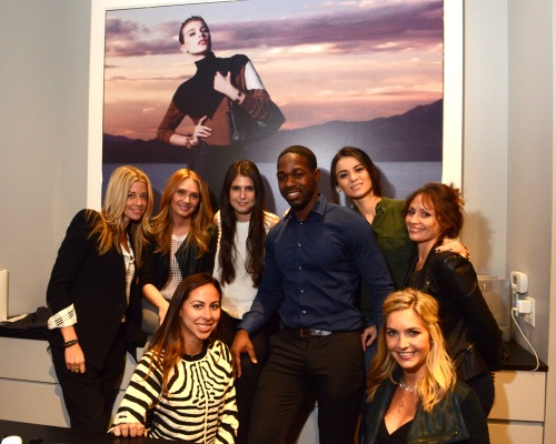 INTERMIX STAFF:  (Top) Kate Stuhl, Danielle Kane, Madeline Smoot, Thomas Mackey, Kristina Askerova Vanessa Vazques (Bottom) Adriana Vazques and Yasmin Bakir