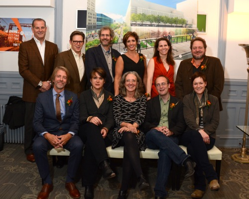 design team and board members of Friends of the Rail Park