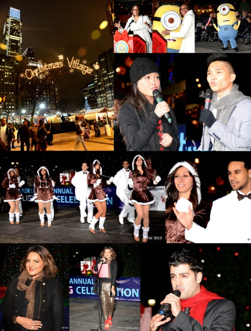 20th Annual Holiday Tree Lighting Celebration  | Kirby Asunto (16 year old singing sensation), Grupo Fuego (Latin dance group),  Marsha Ambrosius (R&B songstress),