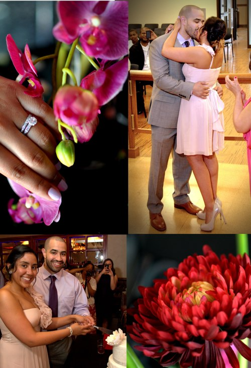 Melonie Alamer & Evan Myers Wedding Day