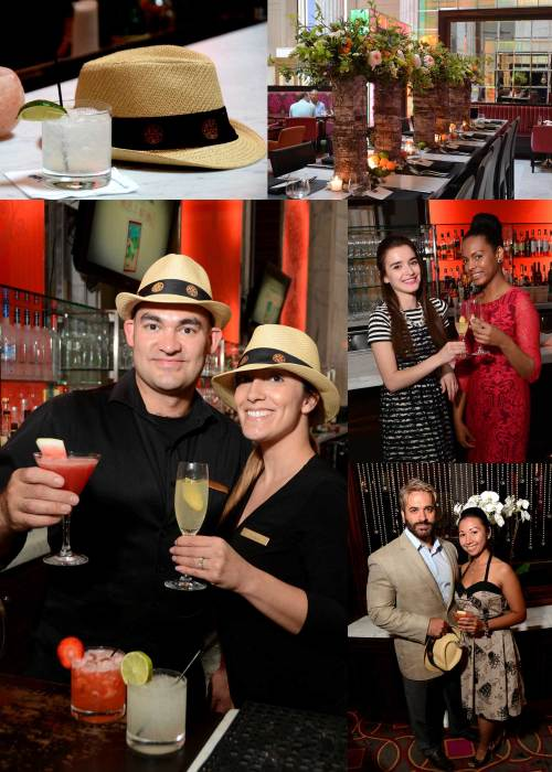 July-10,-2014-The-Ritz-Carlton-Daiquiri-Party~Board-Mixologists: Joseph A. Diorio and Jacqueline Casacuberta