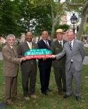 "Sep 8, 2014 Walnut Street's new ""World Heritage Way"""