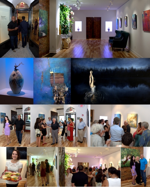Sep-6,-2014-The-Bazemore-Gallery-Opening~-Alan-Soffer-&-Jessica-Libor-~Board-UPLOAD