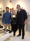 Dec 3, 2014 Brent Celek REVISIT line @ Joan Shepp