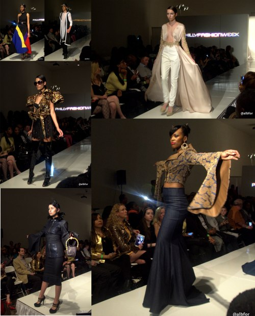 Philadelphia Fashion Week Couture Runway show 2015