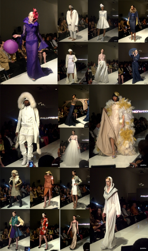 Philadelphia Fashion Week Couture Runway show