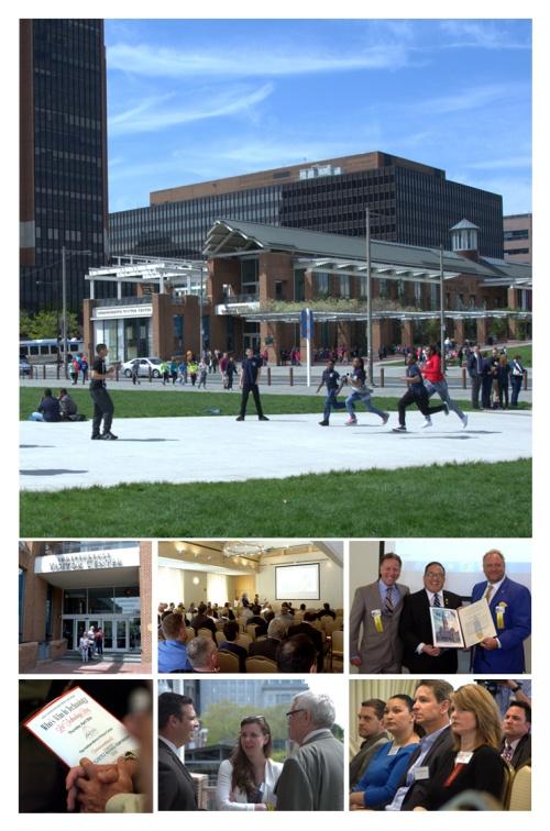 Independence Visitor Center | Rob Molinaro,  Councilman At-Large David Oh, Dan Cronin