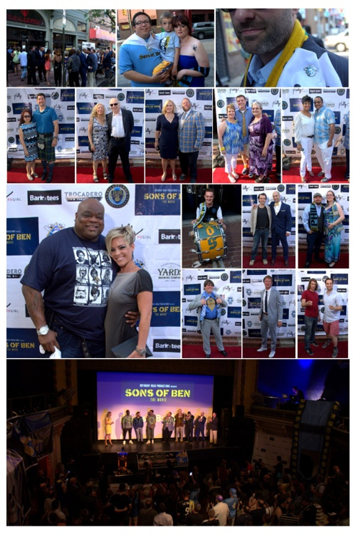 Trocadero Theater  | Sons of Ben Movie Red Carpet Premiere and After-Party