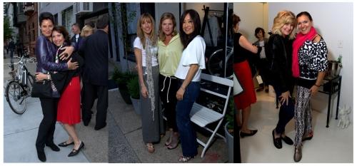 Helga Levin, Diane Petrini | Amy Ferracci, Kim Hannum, Naera Kim | Doreen Creede, Francesca Rivetti