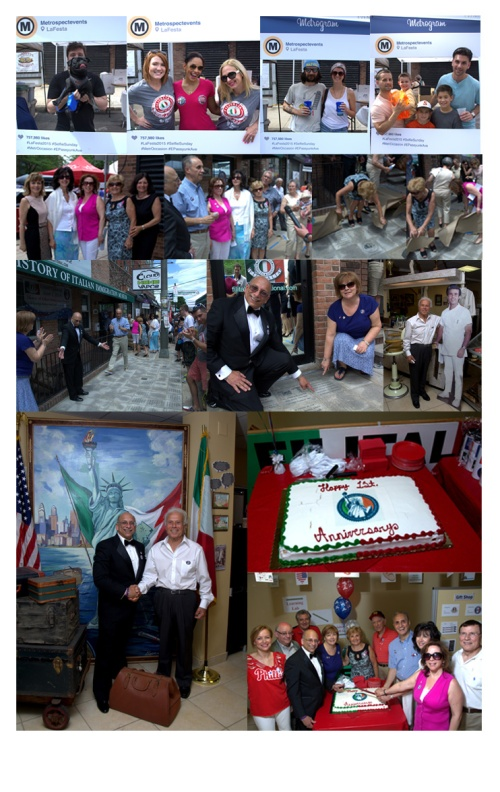 special unveiling of the 'Remembering a Loved One Tile' Sidewalk |  History of Italian Immigration Museum