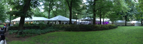 RITTENHOUSE SQUARE |  Tents