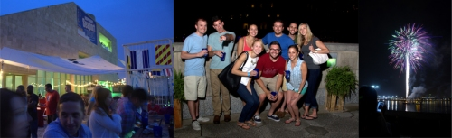Drink Philly ~Tall Ships Tavern Beer Garden for Fireworks