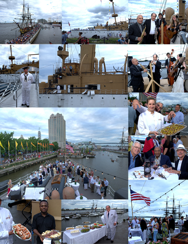 Jun 28 2015 tall ships party aboard the uss olympia al for A la maison ardmore pa